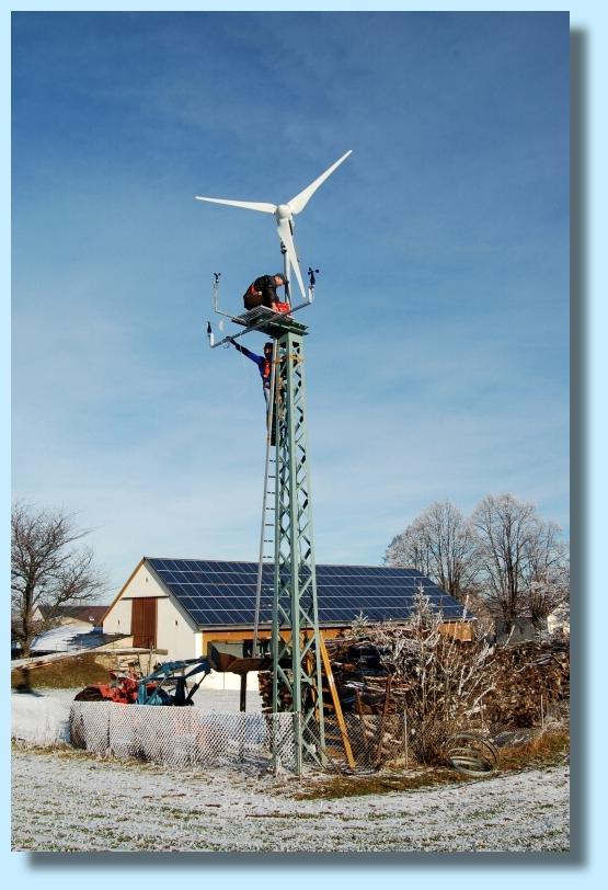 Ветрогенераторы для дома своими руками - инструкция